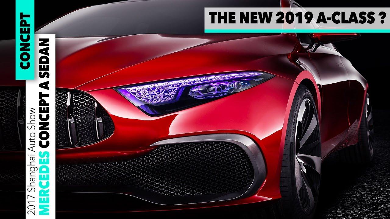 Mercedes Benz Concept A Sedan 2019 Design New A Class