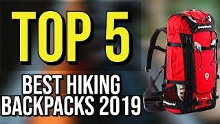 ✅ TOP 5: Best Hiking Backpack 2019