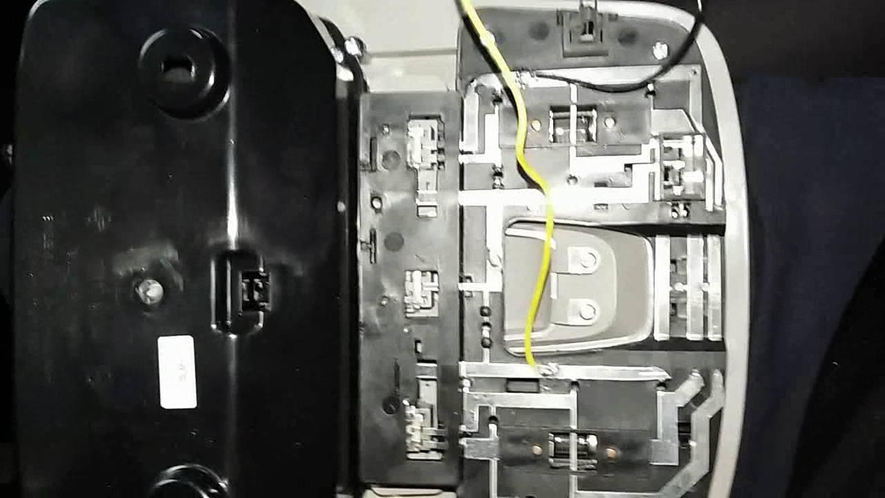 Скрытая установка видеорегистратора на ssangyong actyon