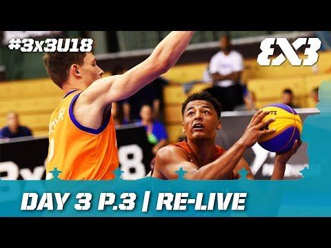 Re-Live - FIBA 3x3 U18 Europe Cup 2017 - Day 3 Pt.3 - Debrecen, Hungary