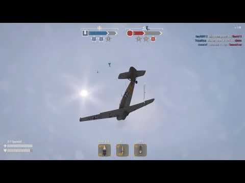 BF-109 D-1 Air & Ground Action (Heroes & Generals)