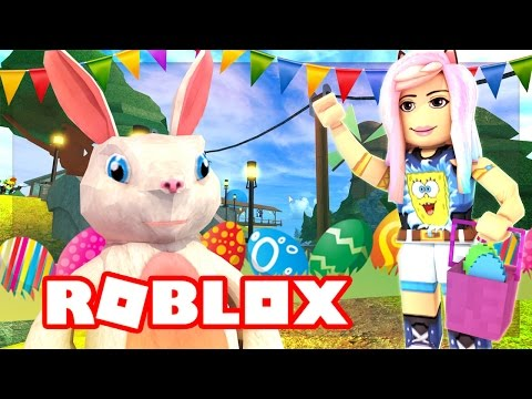 HUNTING FOR EGGS! | ROBLOX EASTER EGG HUNT 2017!