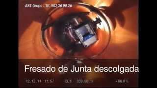 AST Grupo REPARACIÓN INTERIOR DE TUBERÍAS. ROBOT FRESADOR