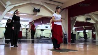 Урок движения. Фламенко. Тренер - Валентина Барахоева