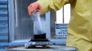 Adding Water to Acid; Finally A Reaction!