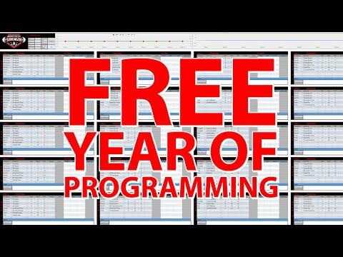 Free Year of Powerlifting Programming