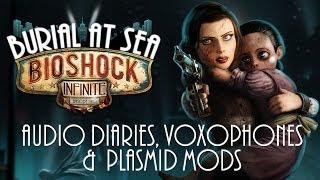 BioShock Infinite: Burial at Sea Episode 2 - Collectibles: Audio Diaries, Voxophones & Plasmid Mods