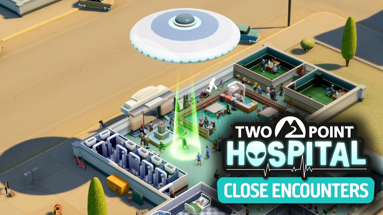 Two Point Hospital: Close Encounters DLC | Gameplay Trailer - YouTube