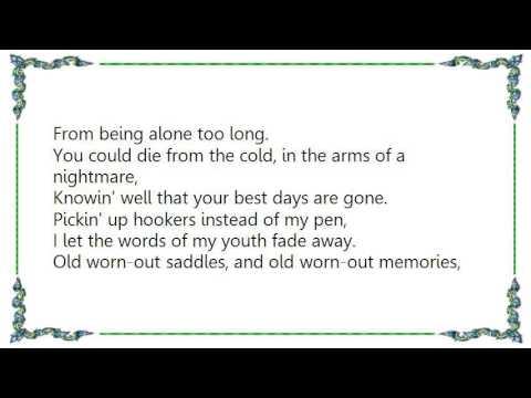 Waylon Jennings - My Heroes Have Always Been Cowboys Lyrics