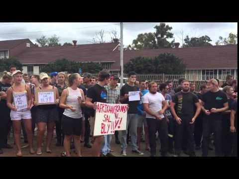 University of Pretoria protests 2