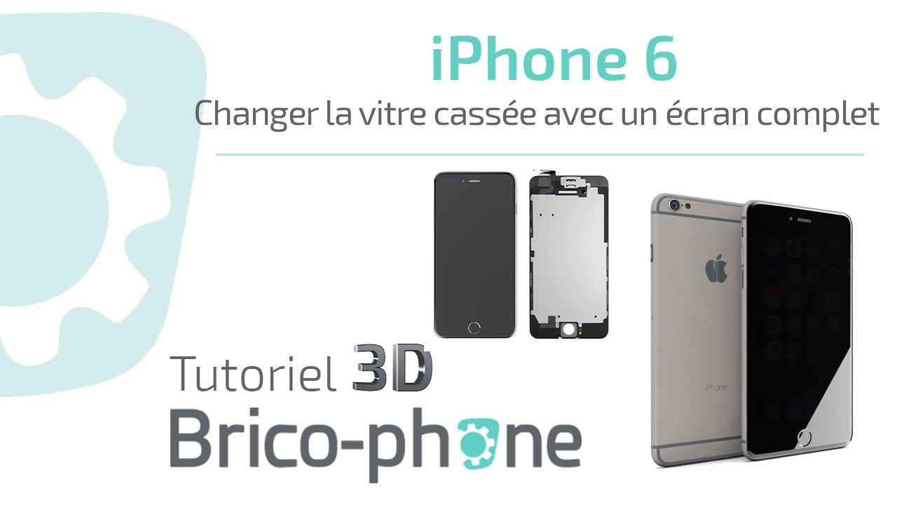 Vitre Iphone  Complet
