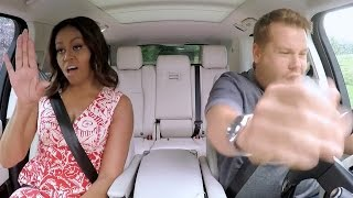 Michelle Obama Does the Single Ladies Dance During Carpool Karaoke