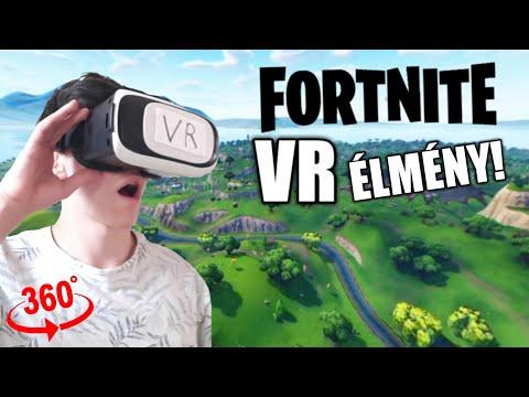 FORTNITE VR ÉLMÉNY! Fortnite Virtual Reality Experience Video