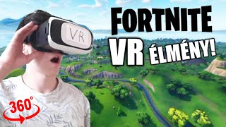 FORTNITE VR ÉLMÉNY! Fortnite Virtual Reality Experience Video