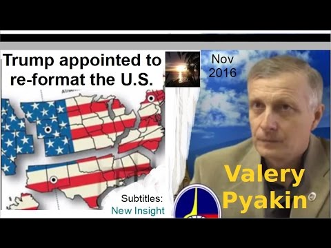 Trump appointed to re-format the US. V.Pyakin