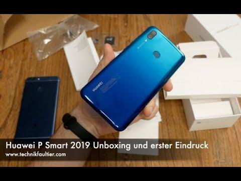 Huawei P Smart 2019 Unboxing und erster Eindruck