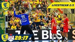 EHF-Cup-Quali: Rhein-Neckar Löwen vs. SKA Minsk 27:19 im Livestream (Teil 2/2)