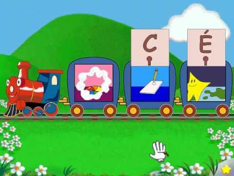 lapin malin maternelle 1 reader rabbit toddler partie 3 train de l alphabet