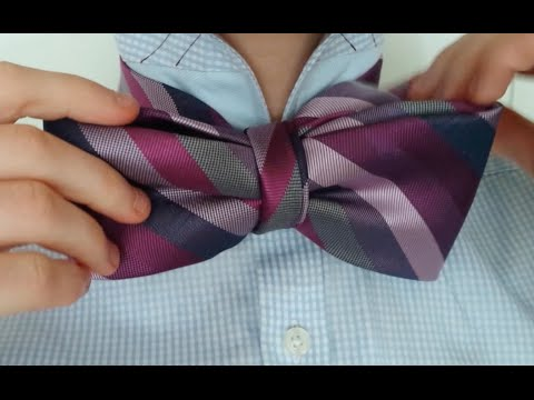 How To Tie A Bow Tie With A Regular Tie