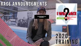 What's coming for 2020? | Race announcements | Training Update