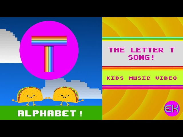 Letter T Song | Kids Music | Early Learners | Elektro Kids