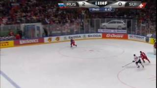Орлов поднял на рога Нидеррайтер Нино Россия - Швейцария