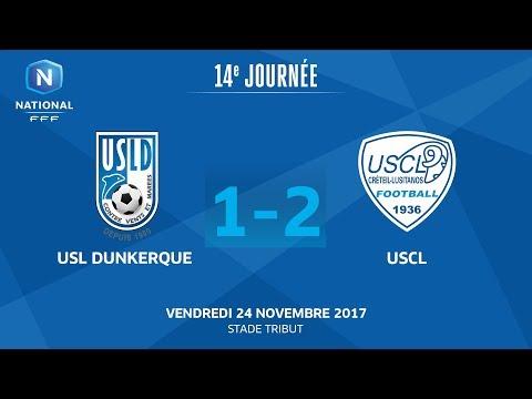 J14 : USL Dunkerque - US Créteil L. (1-2), le replay