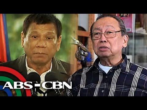 Sison slams 'volatile' Duterte for scrapping ceasefire