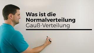 Was ist die Normalverteilung, Gauß-Verteilung, Schaubilder, Übersicht | Mathe by Daniel Jung