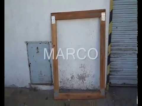 Prensa para marcos de madera youtube - Marcos de madera ...