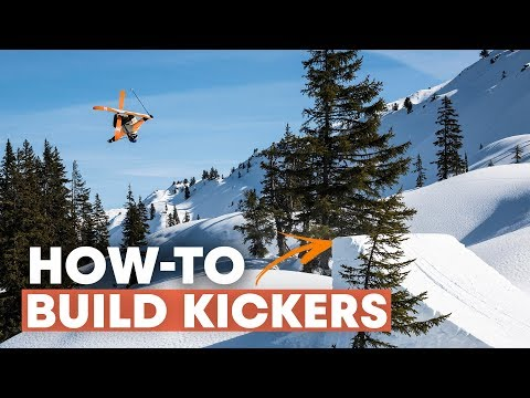 Building Backcountry Kickers | How-To Build The Perfect Ski Jump W/ Paddy Graham
