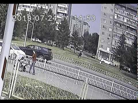 Нападение на  Алексея Беззуба 24  июля на  улице Готвальда у  дома №3. Время нападения 11:14