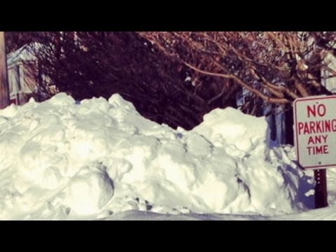 New England Towns Buried Under Feet of Snow