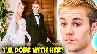 """""""I Want A Divorce"""" Justin Reveals He No Longer Wants To Be With Hailey Bieber!"""