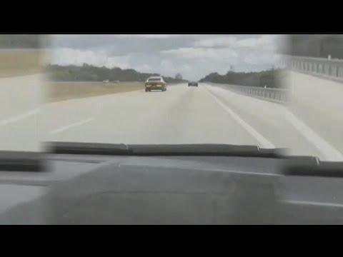 Viral video shows Florida Highway Patrol trooper racing Lamborghini