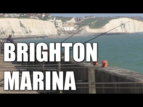 Brighton Marina East and West Breakwaters in East Sussex - British South Coast sea fishing marks