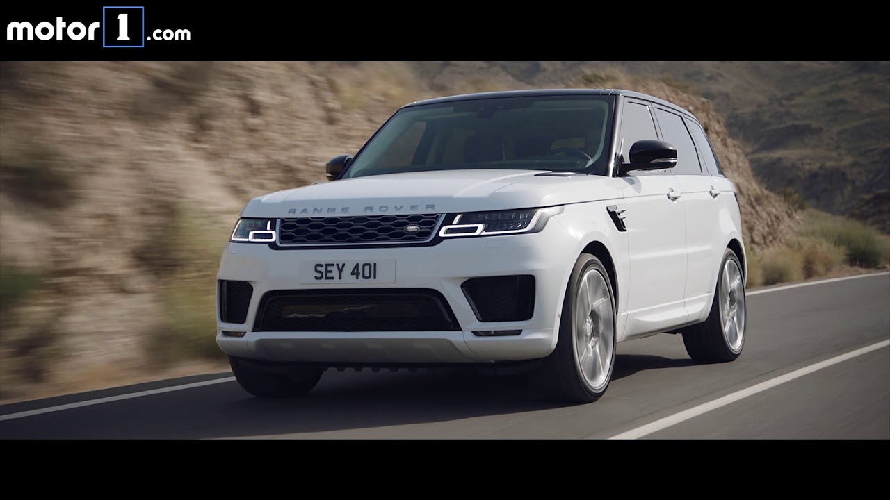 range rover sport p400e 2018 youtube. Black Bedroom Furniture Sets. Home Design Ideas