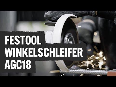 Video: Im Test: Akku-Winkelschleifer von FESTOOL AGC18