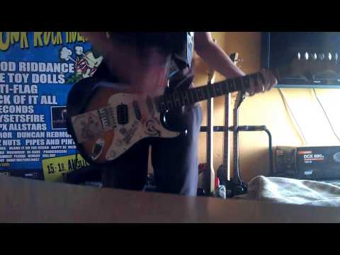 No Use For a Name - Justified Black Eye GUITAR Cover mp3