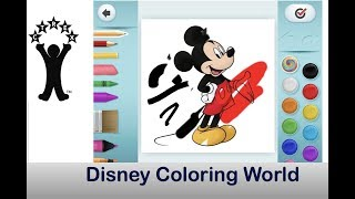 Disney Coloring World by Storytoys