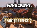 """Team Fortress 2 in Minecraft: """"Dustbowl"""" by Hypixel and SethBling"""
