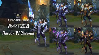 Worlds 2021 Jarvan IV Chromas