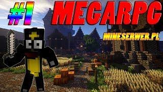 Minecraft MEGARPG #1 MineSerwer - Początki!