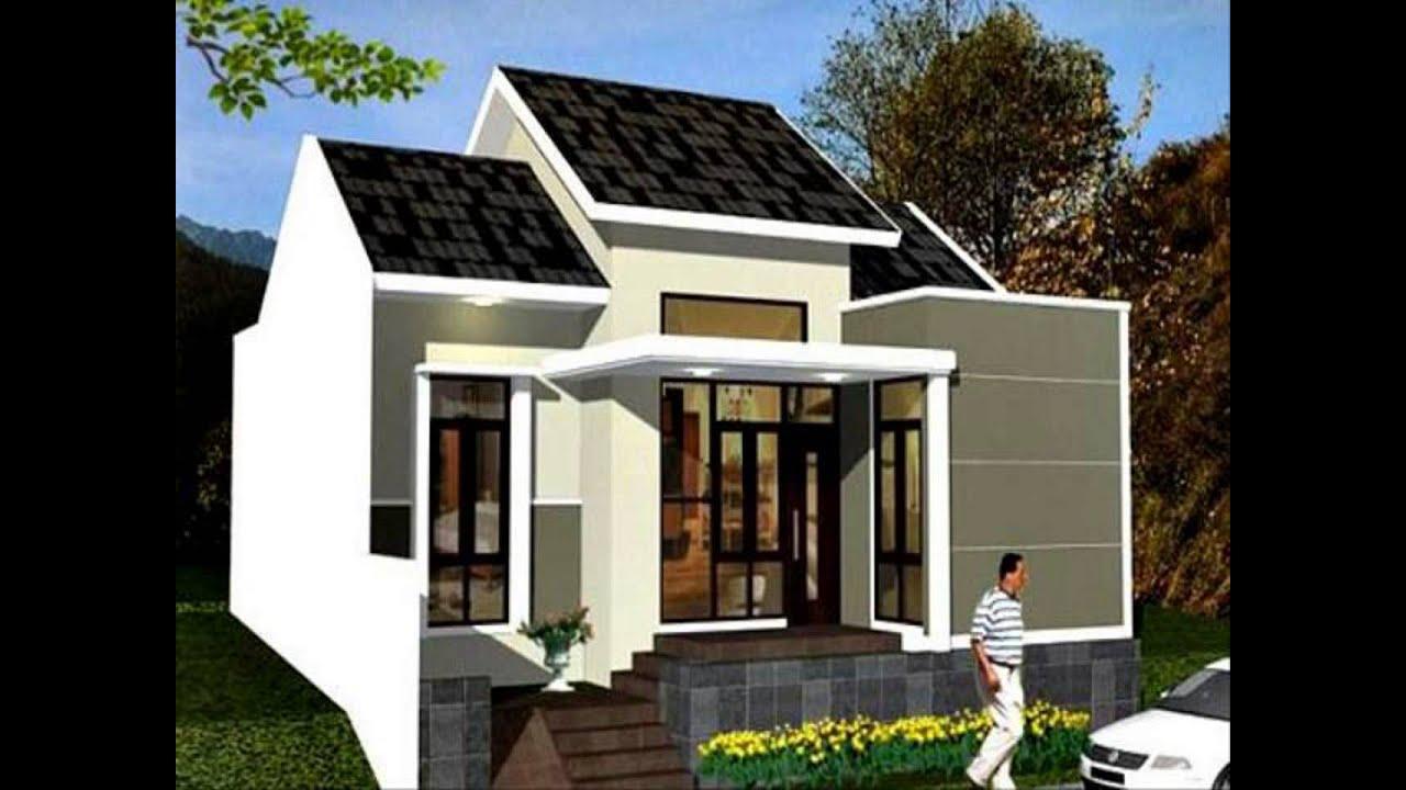 Denah Rumah Minimalis Modern Satu Lantai Denah Rumah Minimalis