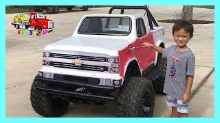 Kid Pranks on Dad Painting The Mini Monster Truck!