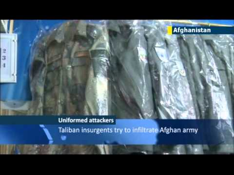 Afghan insider attacks: easy availability of police and army uniforms poses security threat