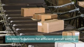 Siemens Solutions for efficient parcel sorting