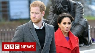 Harry and Meghan drop royal duties and HRH titles - BBC News
