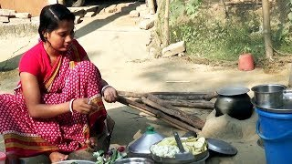 Rural women Cooking ll Delicious Cooking Style  ll Indian Village Food