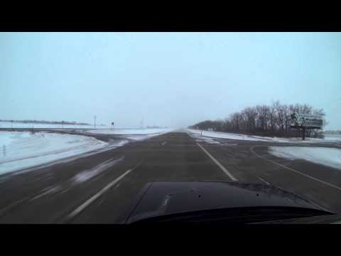 Grand Forks AFB Driving
